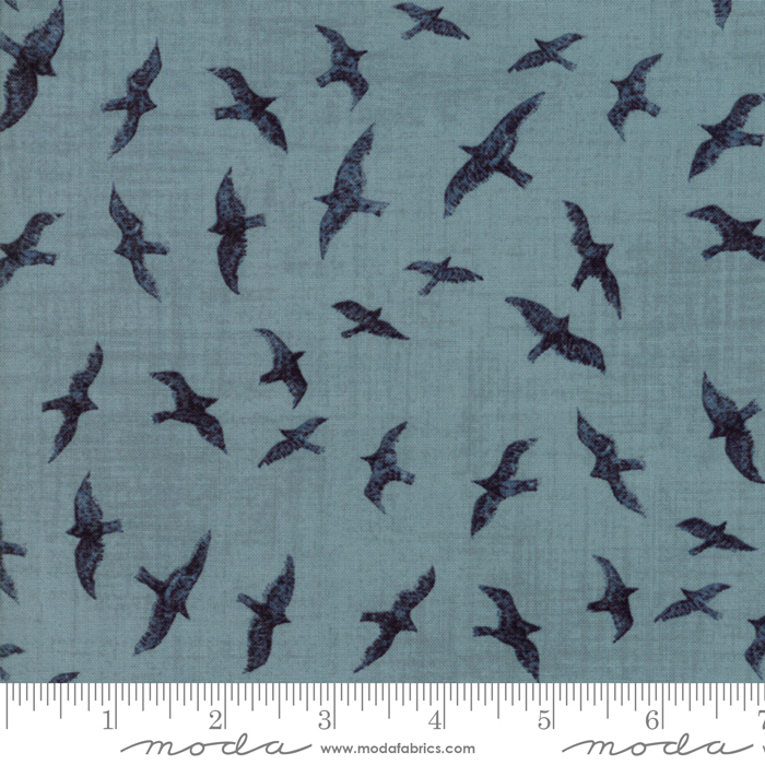 Ahoy Me Heaties 1431-14. By Janet Clare for Moda Fabrics Seagulls