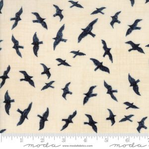Ahoy Me Hearties 1431-17 Pearl. Designed by Janet Clare for Moda Fabrics.