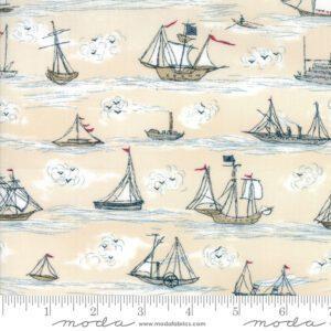 Ahoy Me Hearties 1432-14 Moda Fabrics