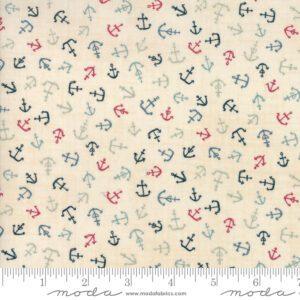 Ahoy Me Hearties 1433-17 Janet Clare Moda Fabrics