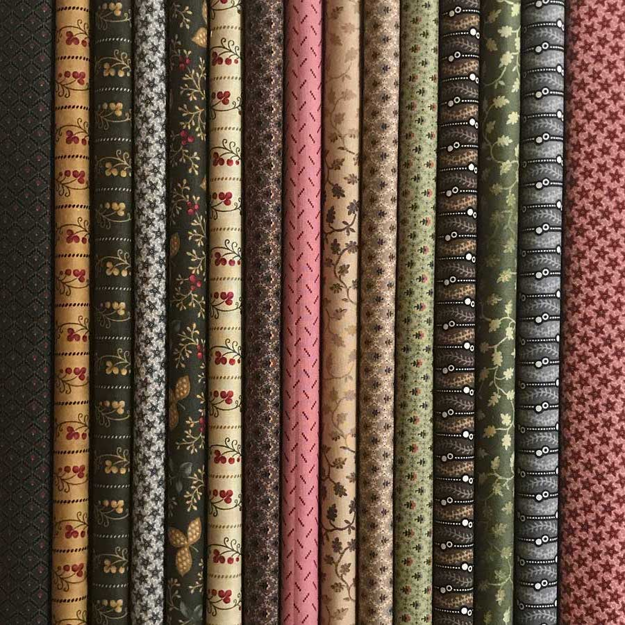 15 Fat Quarters Ladies Album Moda Fabrics Barbara Brackman
