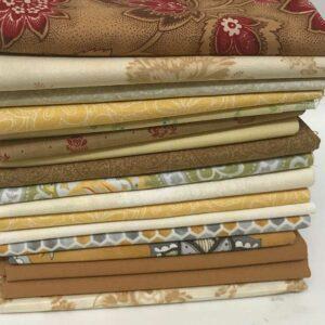 Moda Fabrics 17-Strips-Gold-Yellow