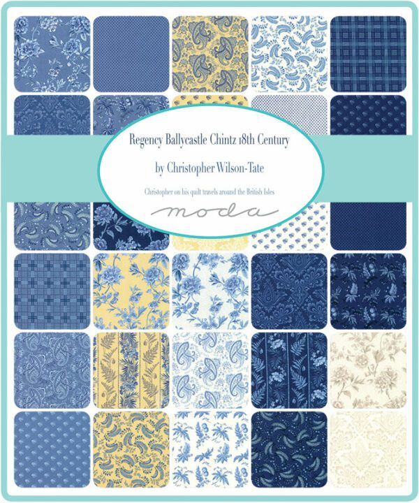 Regency Ballycastle Chintz Moda Fabrics