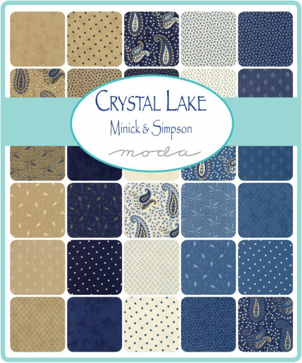 Crystal Lake Moda Fabrics