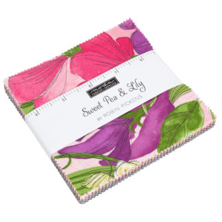 Sweet Pea & Lily Charm Pack Moda