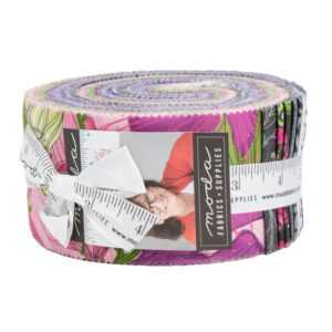 Sweet Pea & Lily Jelly Roll Moda