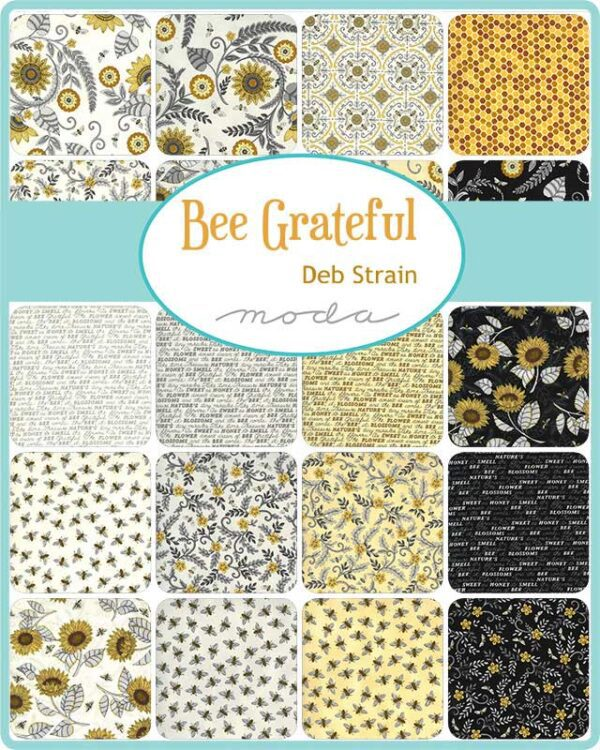 Bee-Grateful-Charm-Pack
